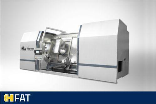 CNC draaibanken met hellend bed (FAT)