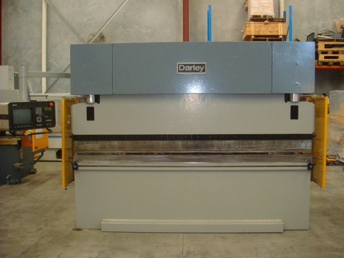 Used DARLEY CNC brake press 3100mm x 110T with DELEM DA58