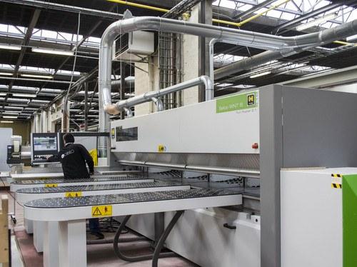 HACO Trading levert machines voor Van Marckes innovatieve, 'industrie 4.0' meubellijn