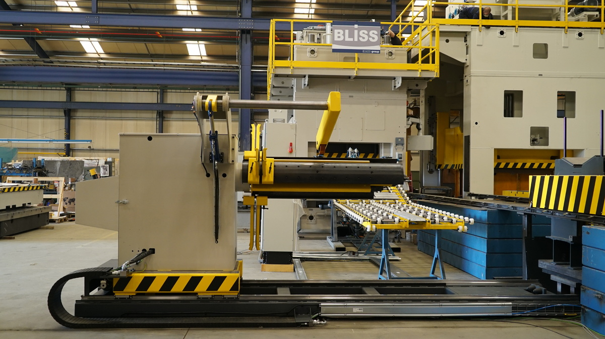 BLISS-BRET finishes a new automatic production line