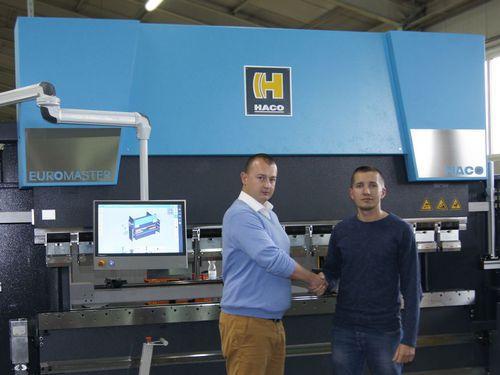 EKOLINIA wita swoją pierwszą prasę krawędziową Euromaster-S 30250