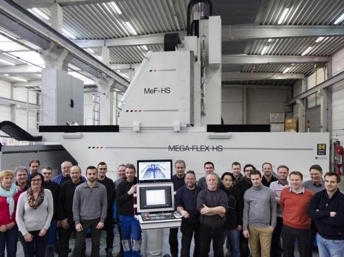 High Speed CNC Machining Center for Aviation customer