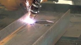 Haco CNC Plasmaschneidanlage