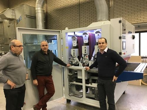 CHAMBON-GUILLIET a suivi formation Technique et Commerciale chez BOERE en Hollande