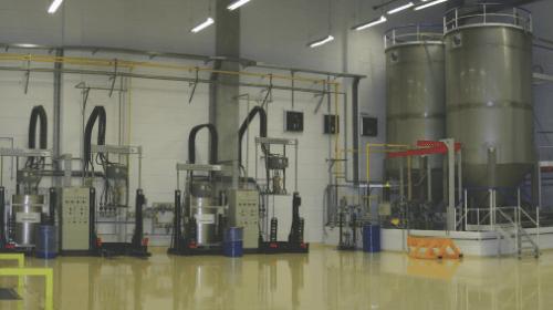 Distribuição de produtos viscosos
