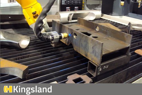 Robot Plasma Cutting Systems for structural steel