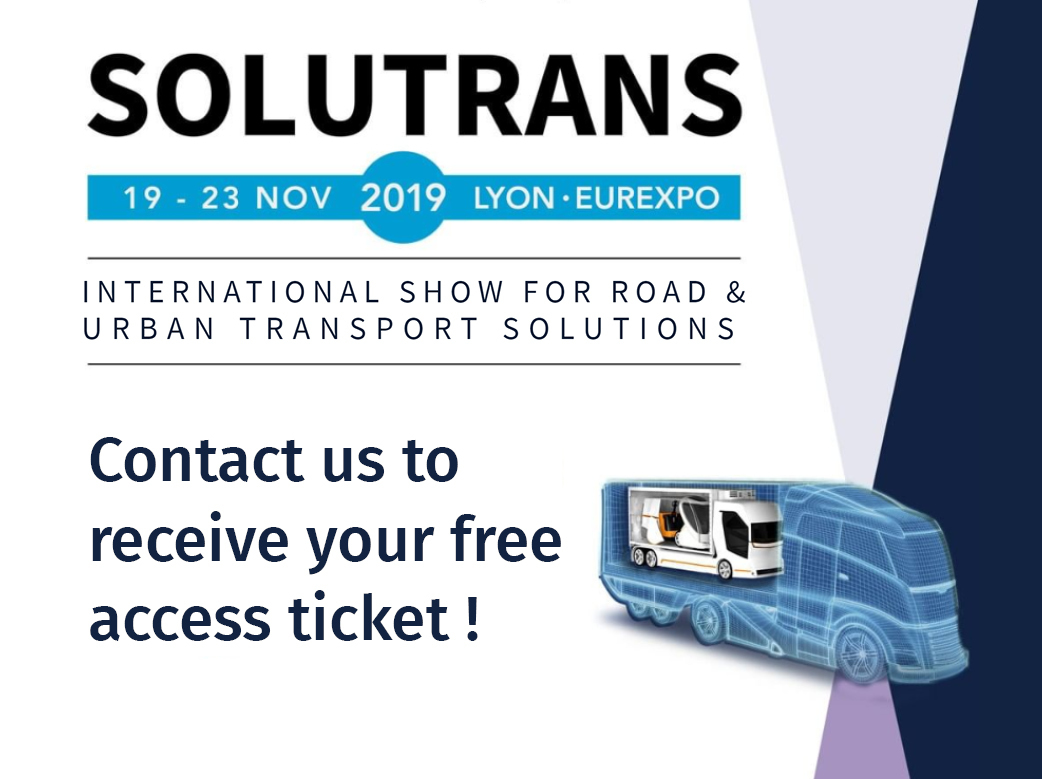 Visit Sima at the Solutrans Trade Show!